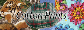 Cotton Prints Yarmulkes
