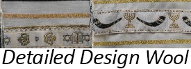 Detailed Design Wool Tallit