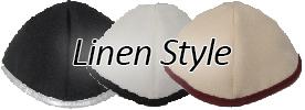 Linen Style Yarmulkes