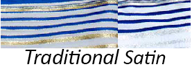 Traditional Satin/Polyester Tallit