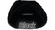 Velvet Black Yarmulkes