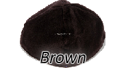 Velvet Brown Yarmulkes