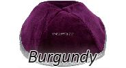 Velvet Burgundy Yarmulkes