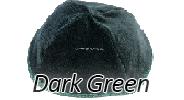 Velvet Dark Green Yarmulkes