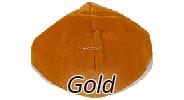 Velvet Gold Yarmulkes