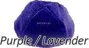 Velvet Purple / Lavender Yarmulkes