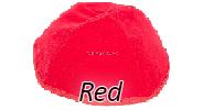 Velvet Red Yarmulkes