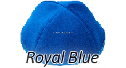 Velvet Royal Blue Yarmulkes