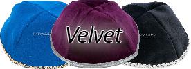Velvet Yarmulkes